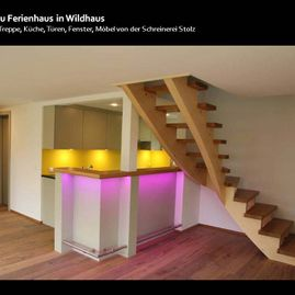 Holztreppe Wildhaus